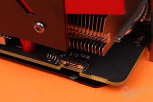 PowerColor Radeon RX Vega 56 Red Devil – Der BIOS-Schalter