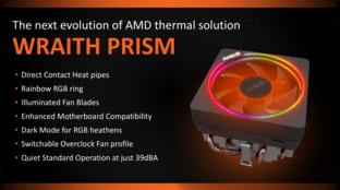 Wraith Prism als neuen Kühler