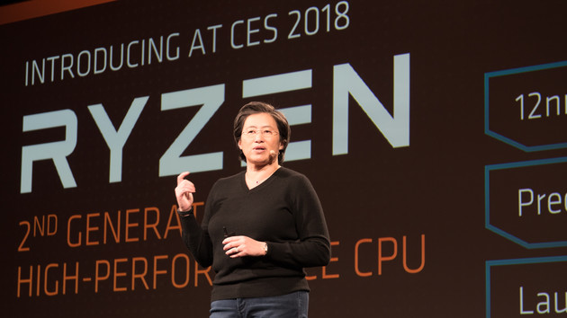 AMD Tech Day: Ryzen-2000-CPUs ab April, Threadripper 2000 ab Sommer