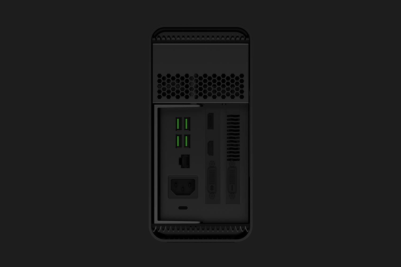 Razer Core V2 – Anschlüsse