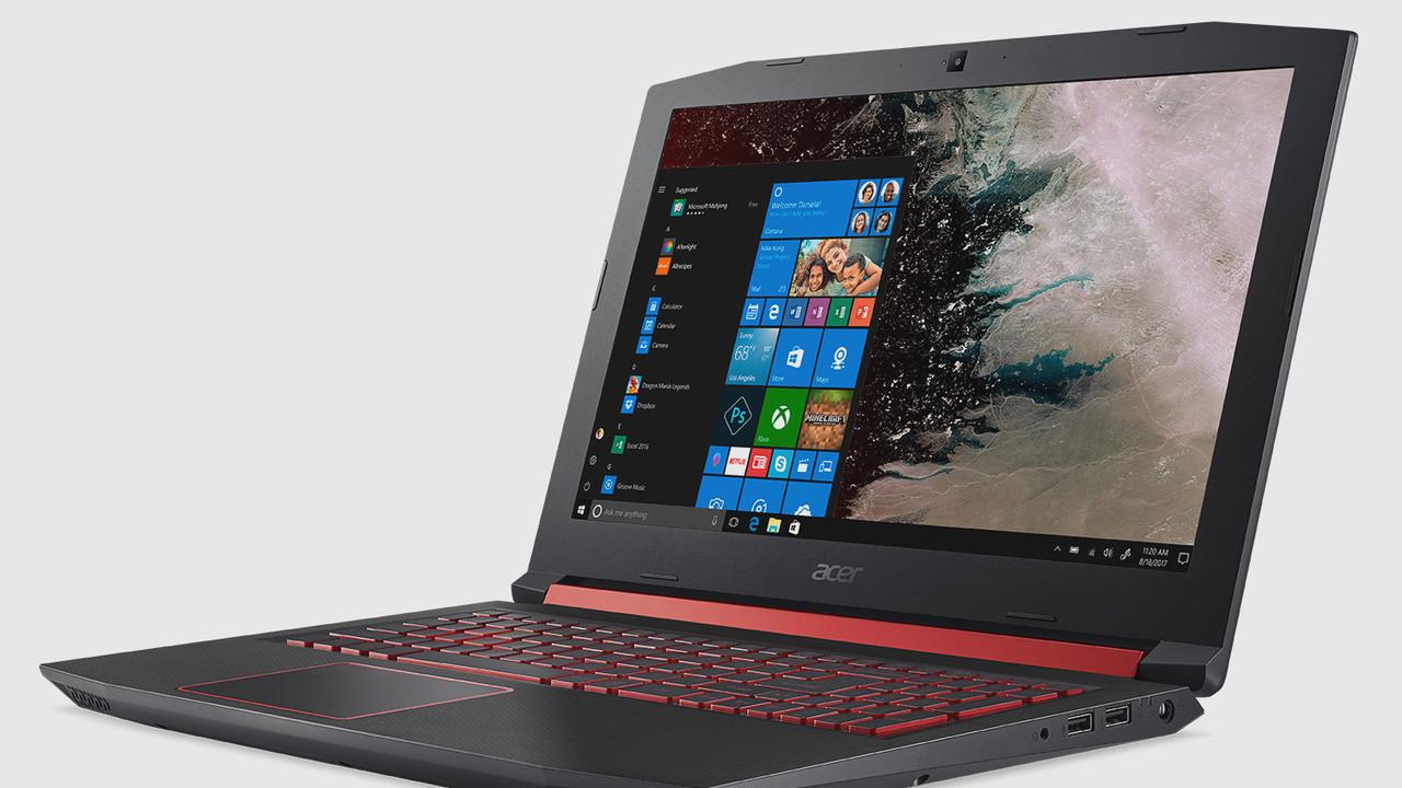 Acer Nitro 5 (2018): Gaming-Notebook mit AMD Ryzen und Radeon-Grafik