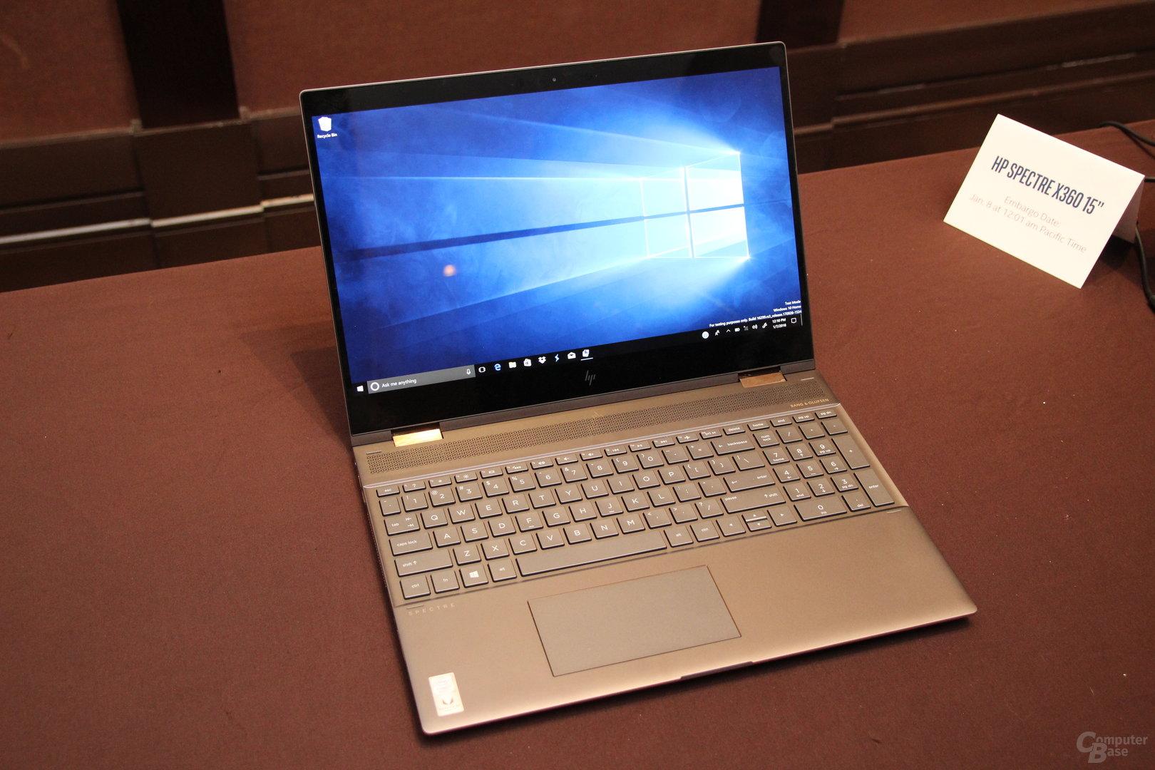 HP Spectre 15 x360 (2018)