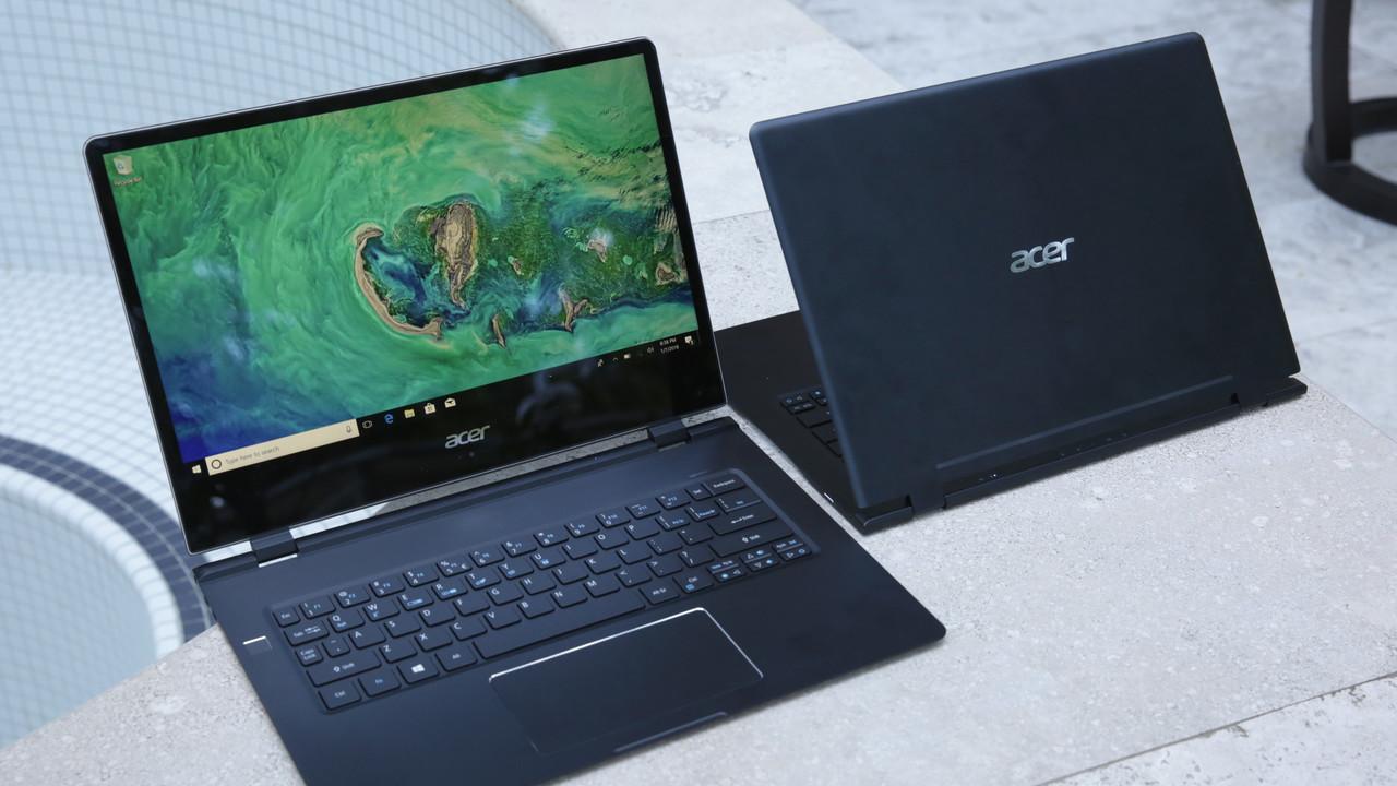 Acer Swift 7 im Hands-On: Steifes LTE-Notebook mit schlanker Silhouette