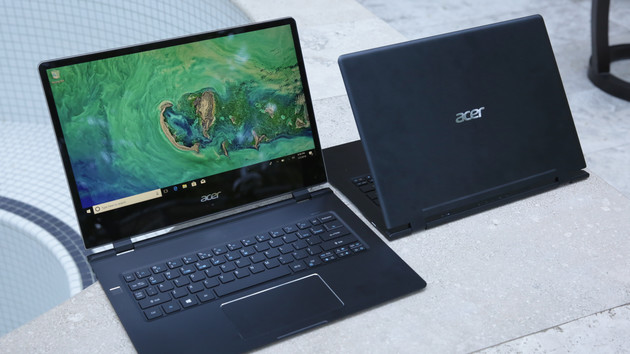 Acer Swift 7 im Hands-On: Steifes LTE-Notebook mit schlanker Silhouette