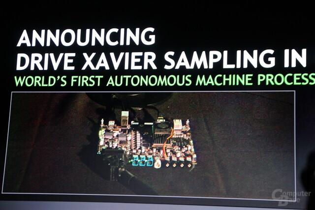 Nvidia Drive Xavier