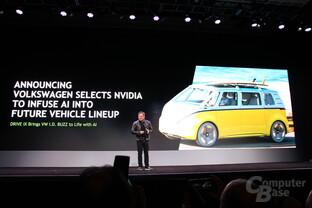 Nvidia und Volkswagen kooperieren bei AI im Auto