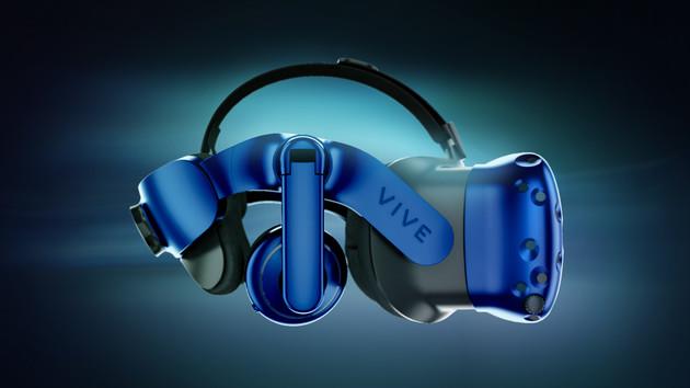 HTC Vive Pro: VR-Headset mit 80 Prozent mehr Pixeln und Tracking 2.0