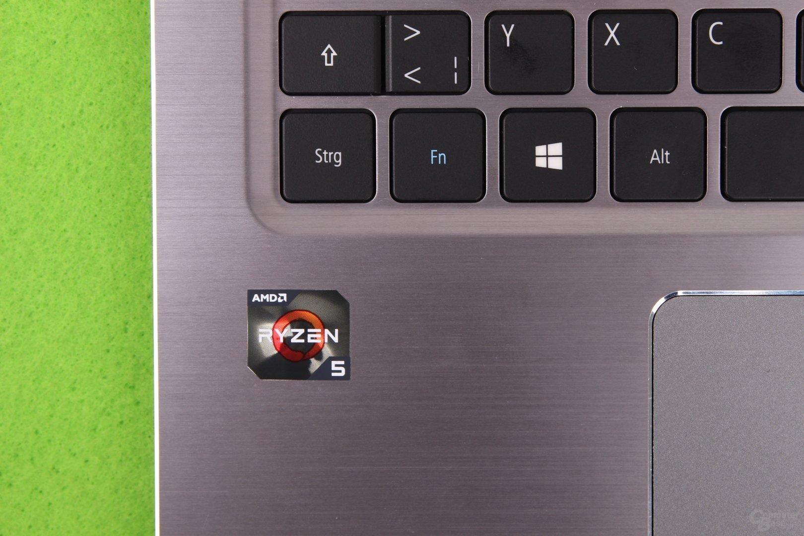 Macht eine gute Figur: Der AMD Ryzen 5 2500U im Acer Swift 3