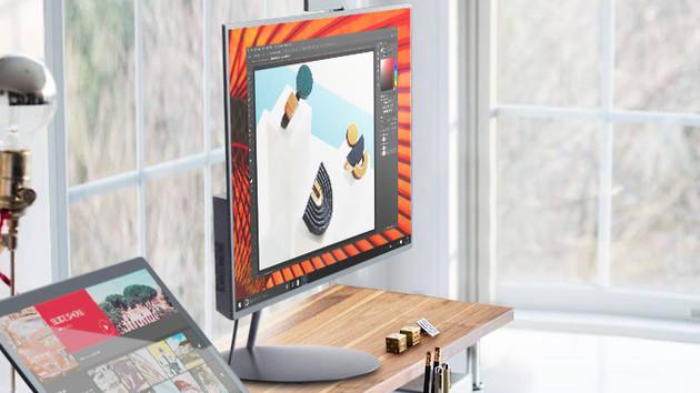 Lenovo ThinkVision X1: Neuauflage des UHD-Monitors mit TB 3 und Motor-Webcam