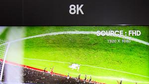 Samsung: Künstliche Intelligenz zum Skalieren auf 8K-Fernseher