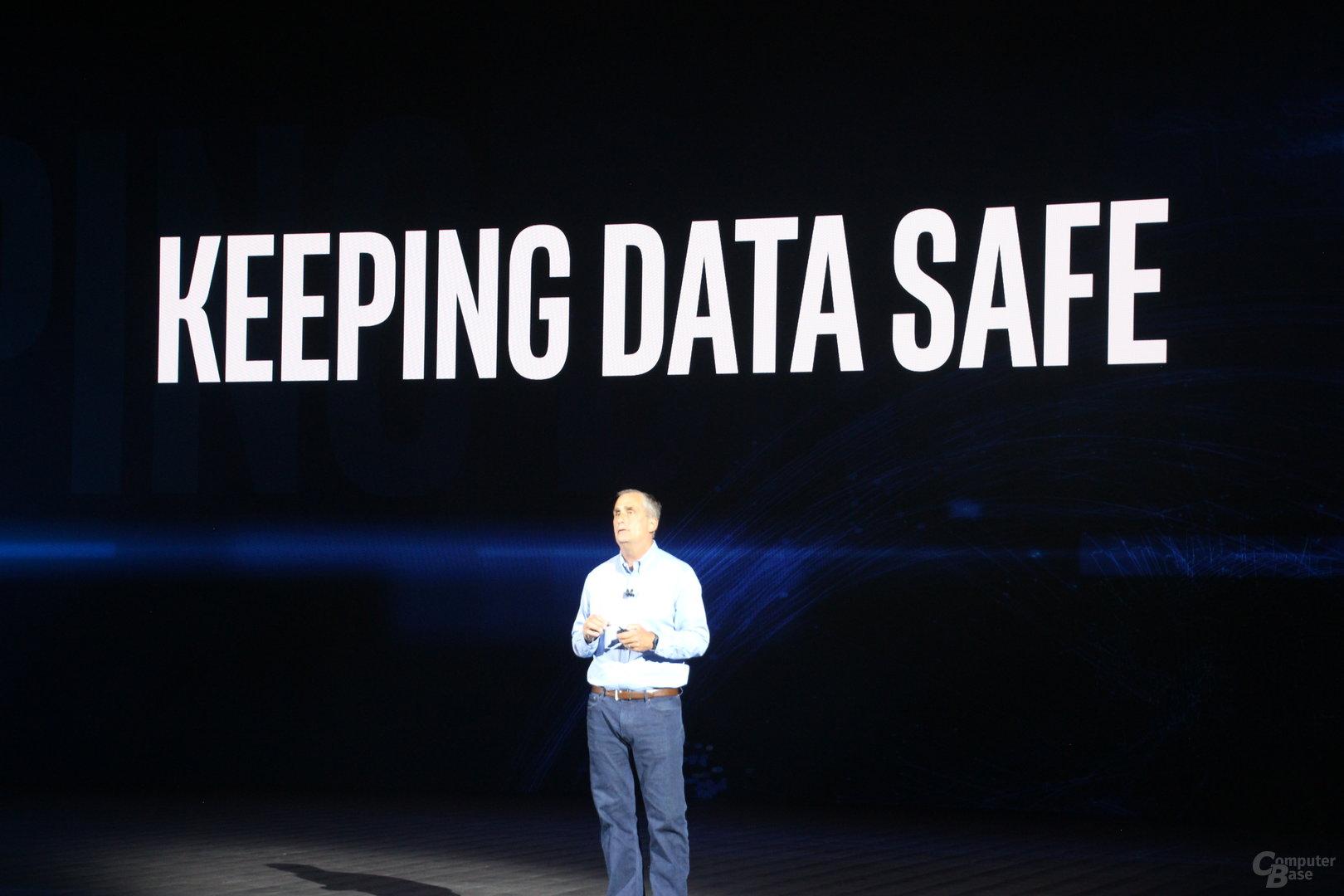 Intel-CEO Krzanich zur CES-Keynote