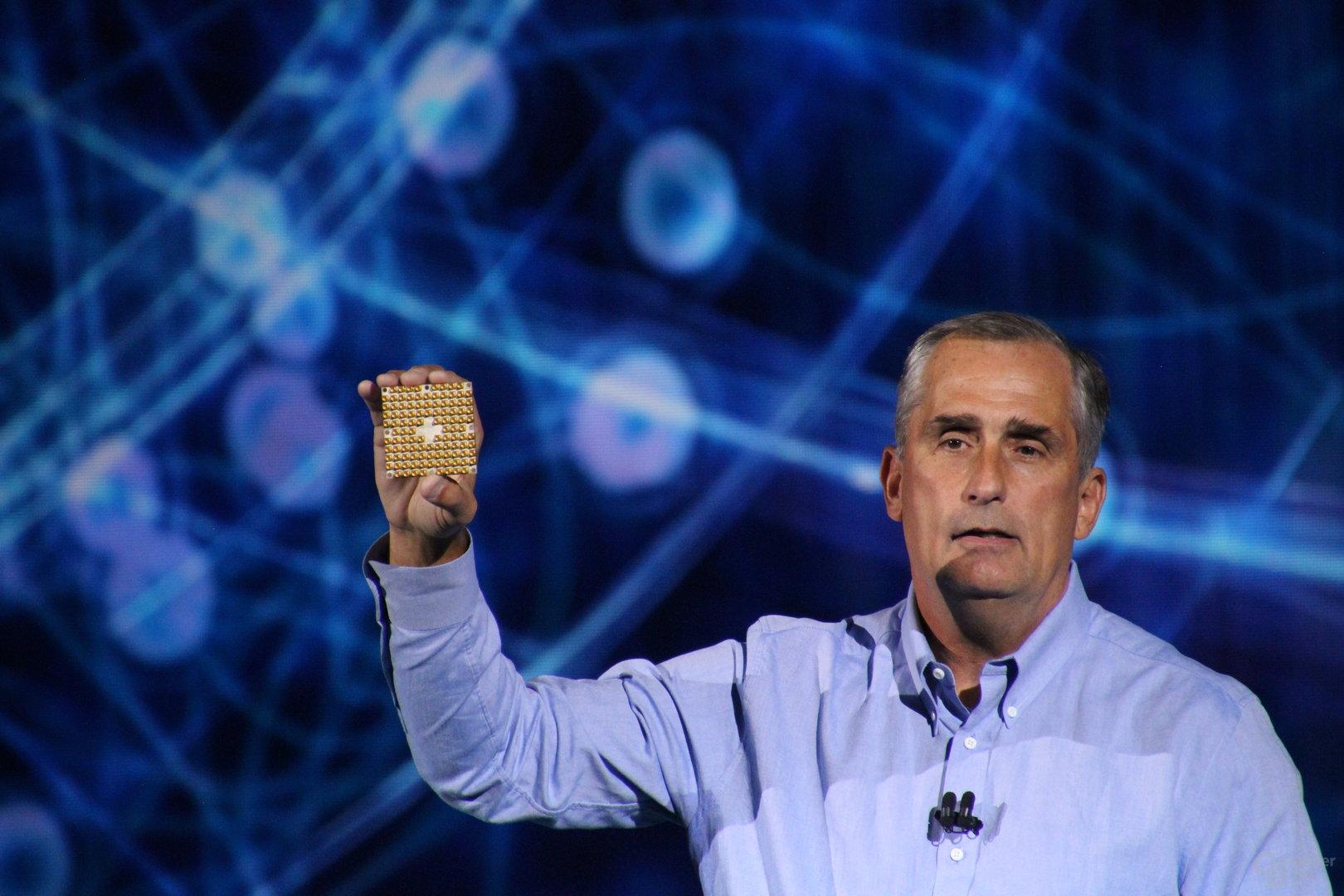 Intel-Testchip mit 49 Qubits