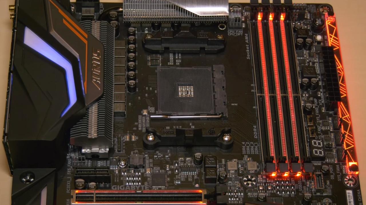 AMD Ryzen 2000: Bilder zum X470-Mainboard von Gigabyte aufgetaucht
