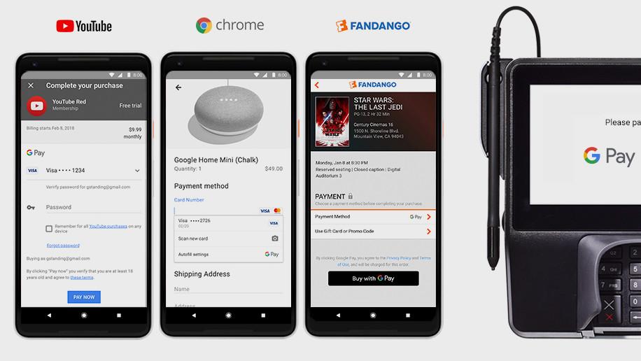 Rebranding: Google Pay vereint Android Pay und Google Wallet