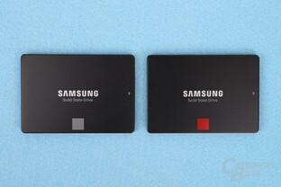 Samsung SSD 860 Evo und 860 Pro