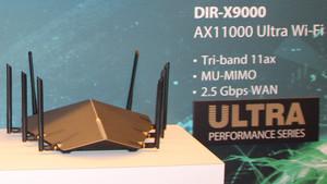 D-Link: 802.11ax-WLAN-Router mit bis zu 11.000 Mbit/s