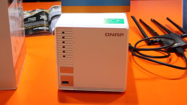 Netzwerkspeicher: Die TS-328 ist QNAPs erstes NAS für drei Festplatten