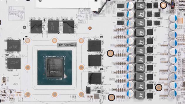 Galax/KFA²: Weiße GeForce GTX 1070 Ti HOF mit 2 × 8-Pin