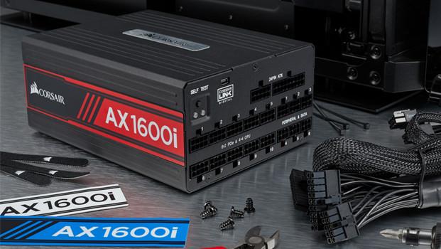 Corsair AX1600i: 1.600-Watt-Luxusnetzteil als Technologie-Vorreiter