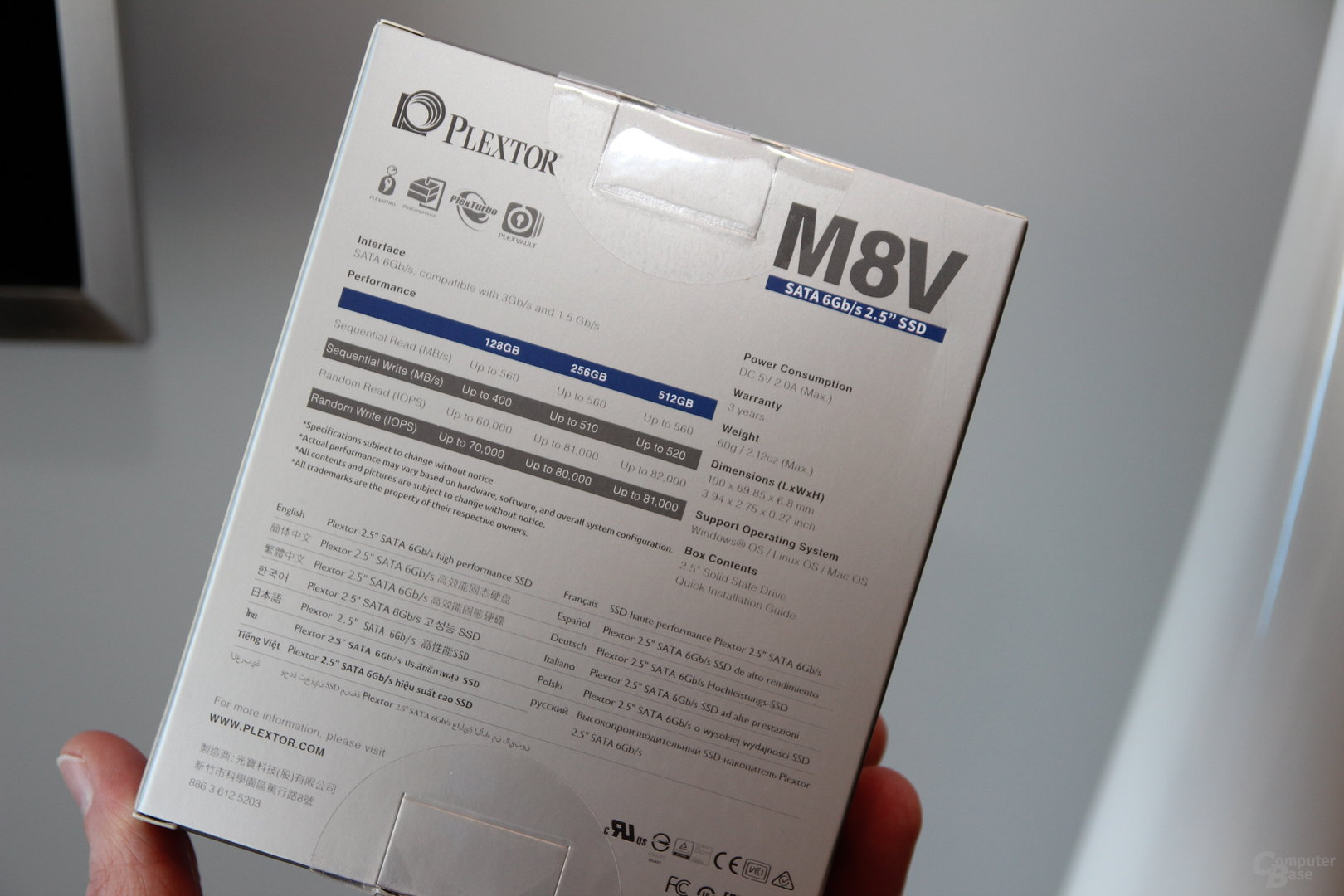 Plextor M8V