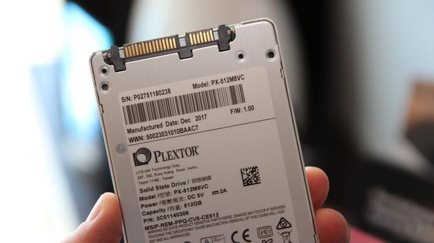 Plextor M8V: SATA-SSD mit BiCS3‑Flash und reichlich Verspätung