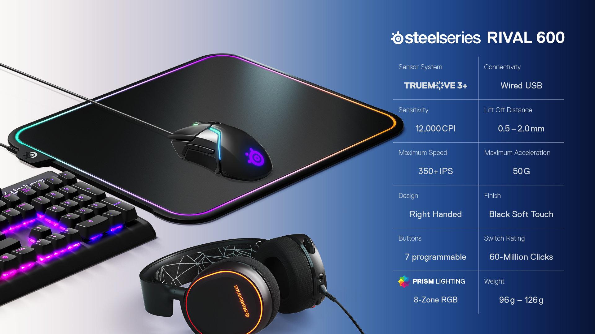 SteelSeries Rival 600