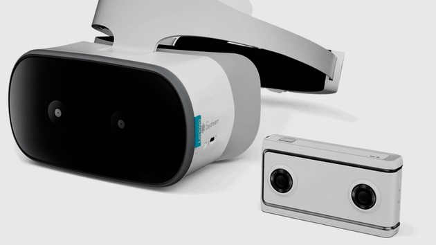 Google Daydream: Lenovos VR-Headset braucht weder Smartphone noch PC