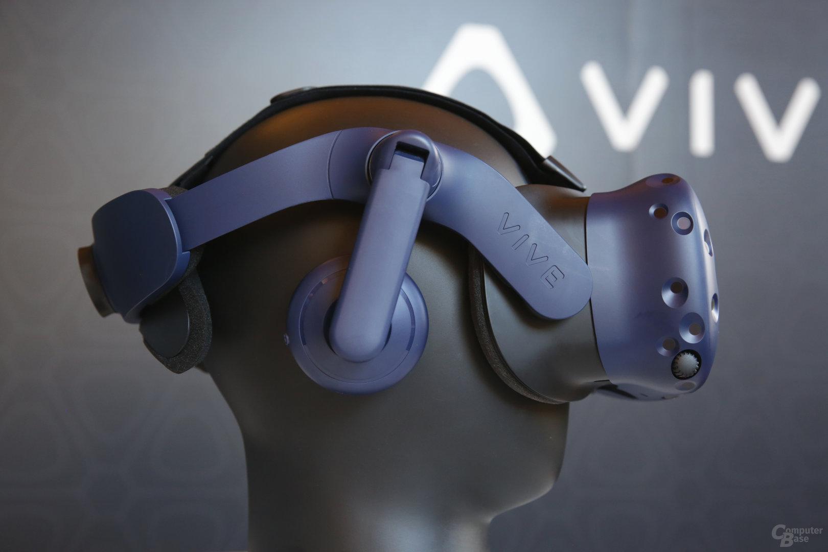 Neue Kopfhörer der Vive Pro