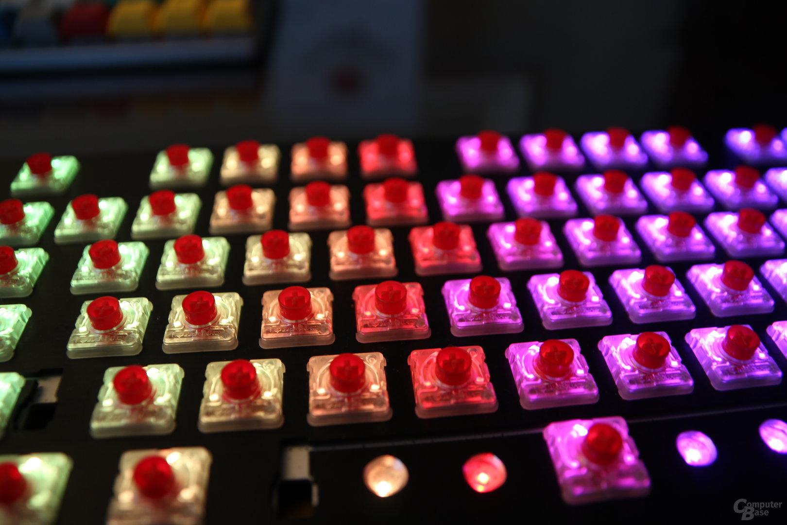 Cherry MX Low Profile RGB Red