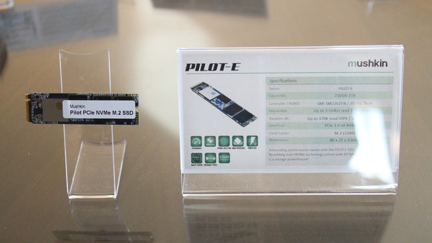 Mushkin auf der CES: Neues vom NVMe-Flaggschiff bis zum Mini-USB-Stick