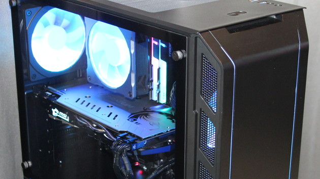 Gehäuse: Phanteks Eclipse P350X mit RGB-Beleuchtung für 70 Euro