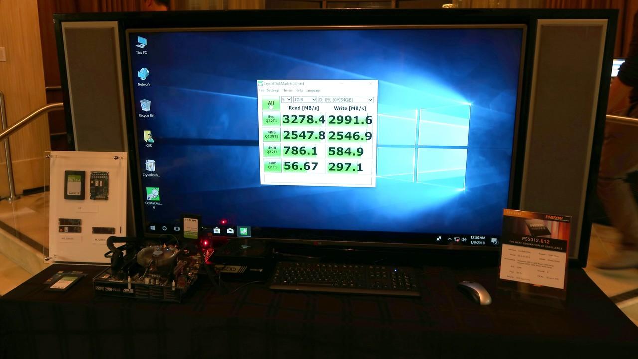 Phison E12: Benchmarks zum neuen SSD-Controller-Flaggschiff