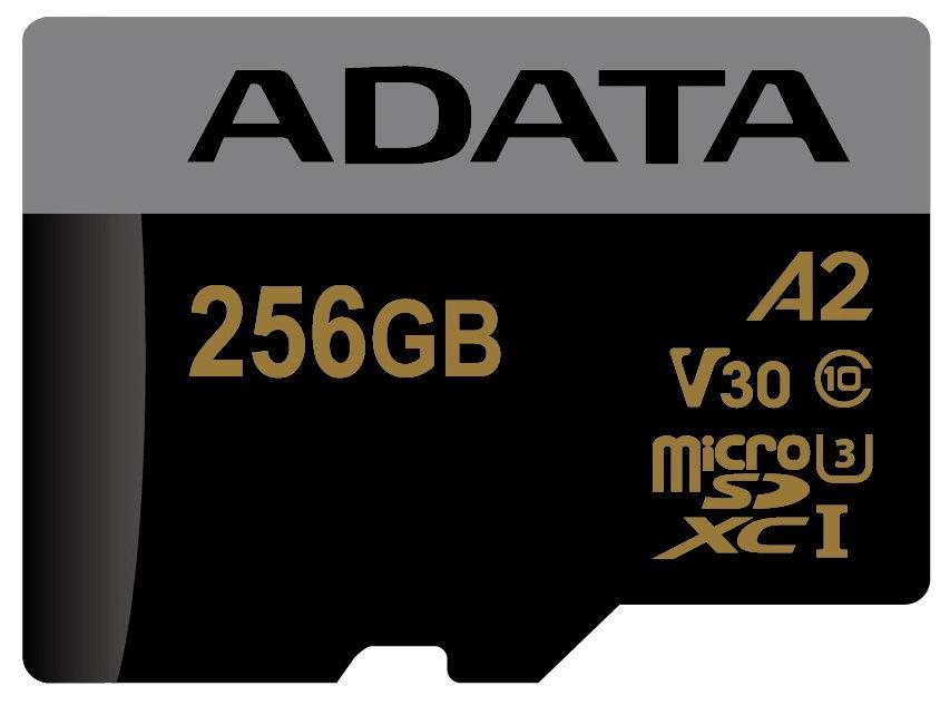 Adata microSD-Karte mit A2-Siegel
