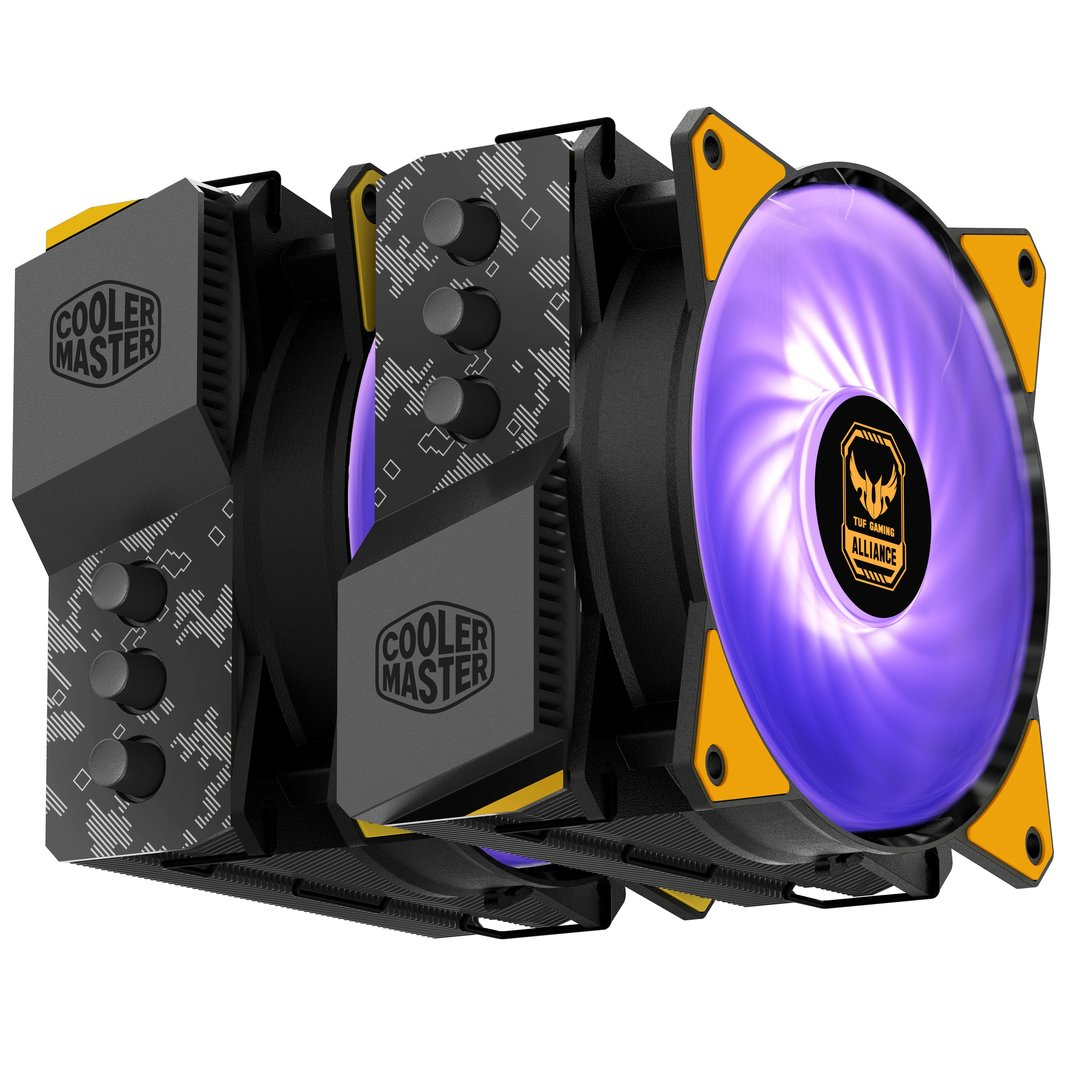 Cooler Master MasterAir MA620P in der Asus-TUF-Edition
