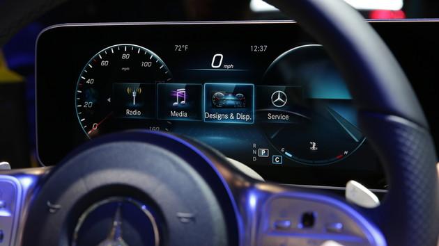 Mercedes-Benz: OLED-Bildschirme von LG Display sollen Einzug halten