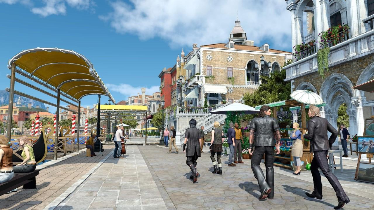 Final Fantasy XV: 155 GB Speicherplatz und GTX 1080 Ti für UHD empfohlen