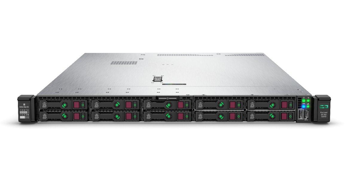 HPE ProLiant DL360 Gen10 Front ohne Bezel