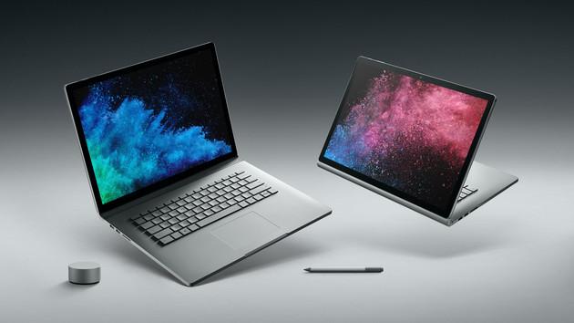 Microsoft Surface Book 2 neu auch mit 15 Zoll in der Schweiz