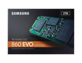 Samsung 860 Evo SSD M.2 mit 2 TB