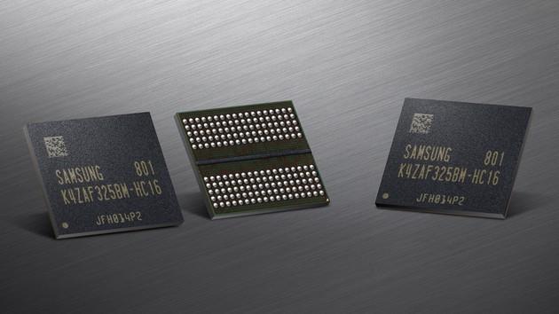 Samsung: GDDR6 mit 2 GB und 18 Gbps für GPUs geht in Serie