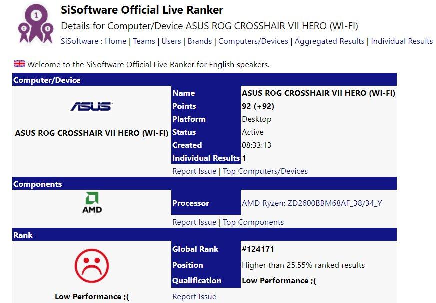 Asus Crosshair VII Hero