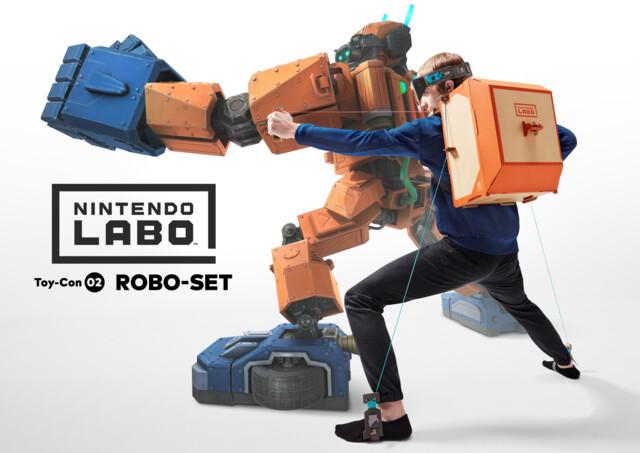 Nintendo Labo – Robo-Set