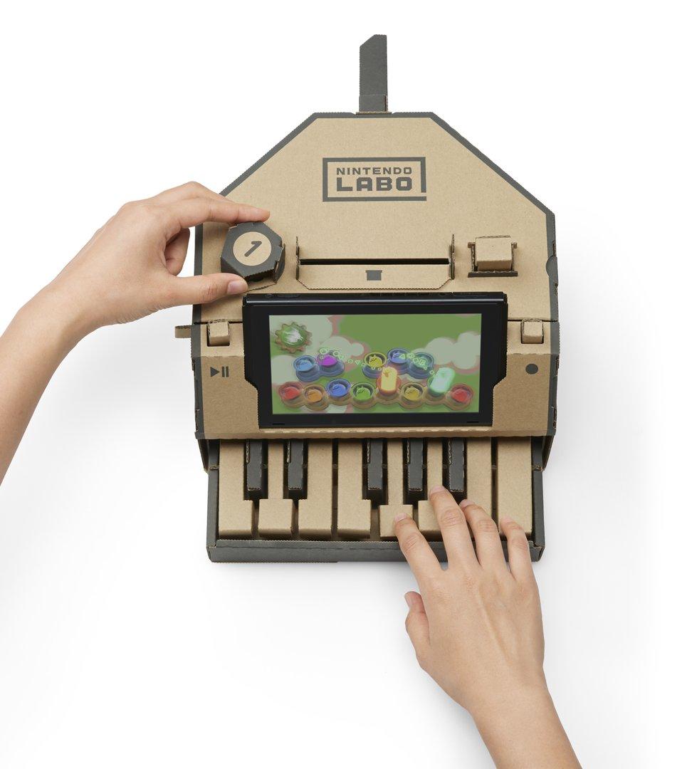 Nintendo Labo – Multi-Set – Klavier
