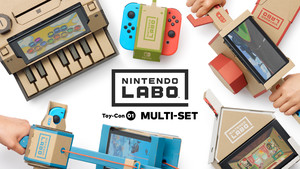 Nintendo Labo: Low-Tech-Bastelmaterial trifft auf High-Tech-Konsole