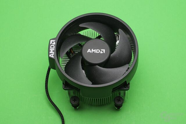 AMD Wraith Spire: Die mittelgroße Version des Boxed-Kühlers von AMD