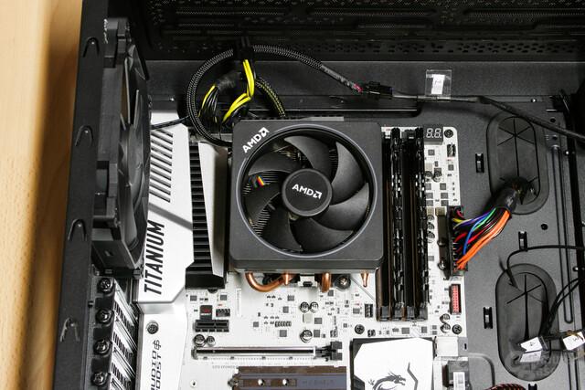 AMD Wraith Max im Testsystem