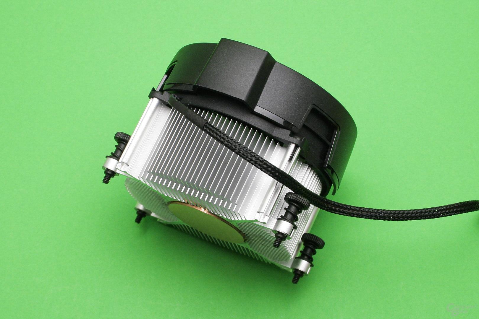 AMD Wraith Spire: Der kleinere Boxed-Kühler hat keine Heatpipes