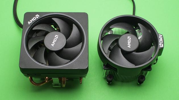 AMD Wraith Spire und Max im Test: Boxed-Kühler gegen CPU-Kühler zum Nachrüsten