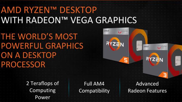 Raven Ridge: Neue AMD-APUs bekommen schnelleren Speicher