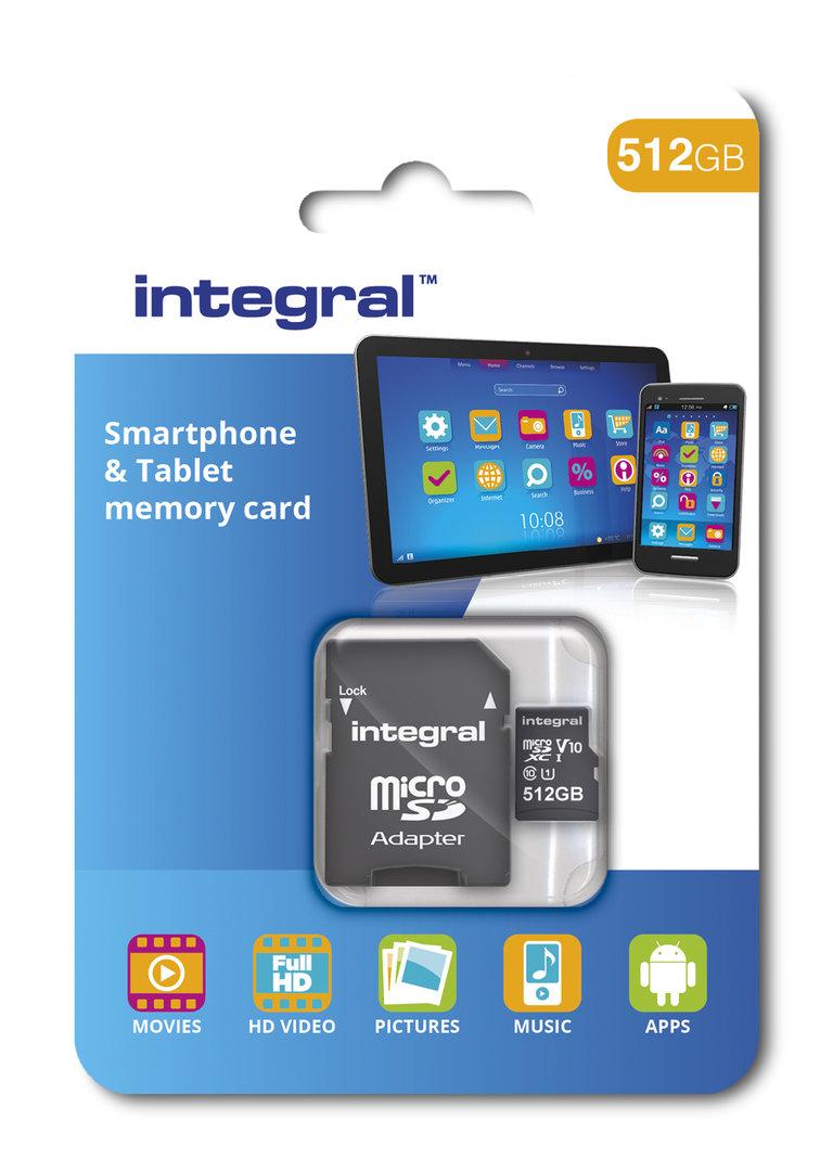512-GB-microSD-Karte von Integral Memory